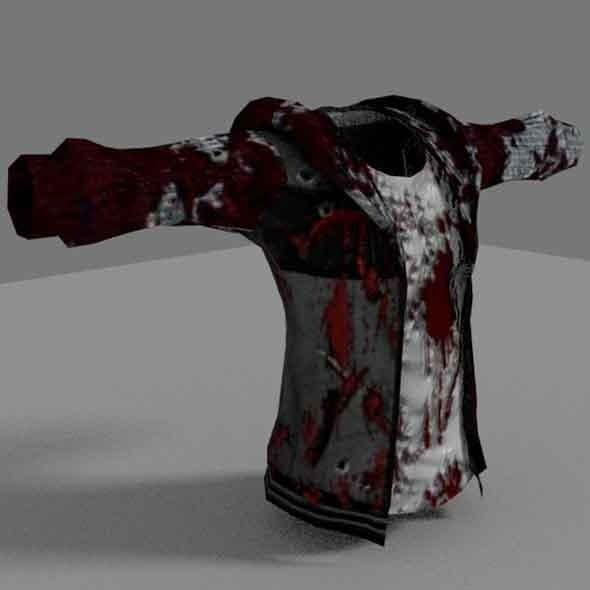 Zombie Jacket - 3DOcean Item for Sale