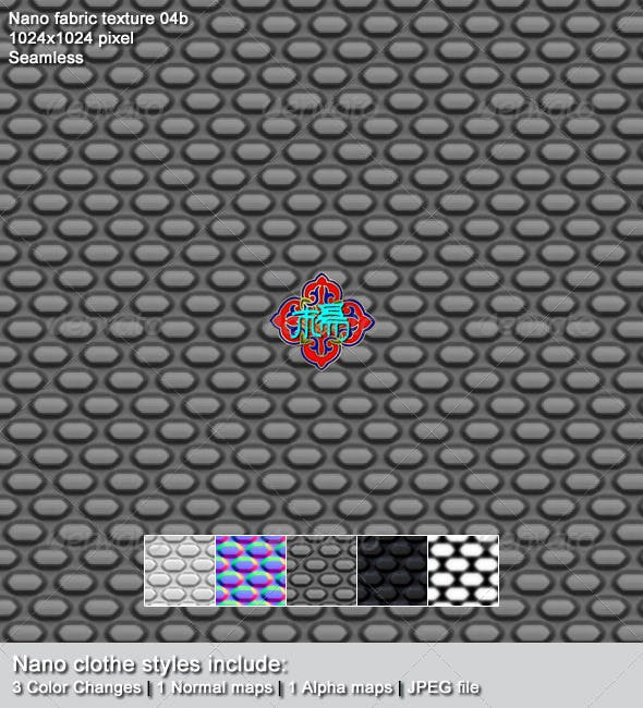 Nano fabric texture 04b - 3DOcean Item for Sale