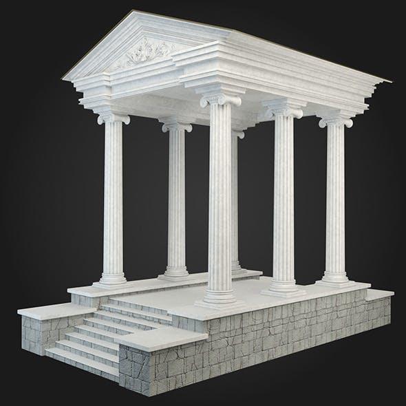 Gazebo 034 - 3DOcean Item for Sale
