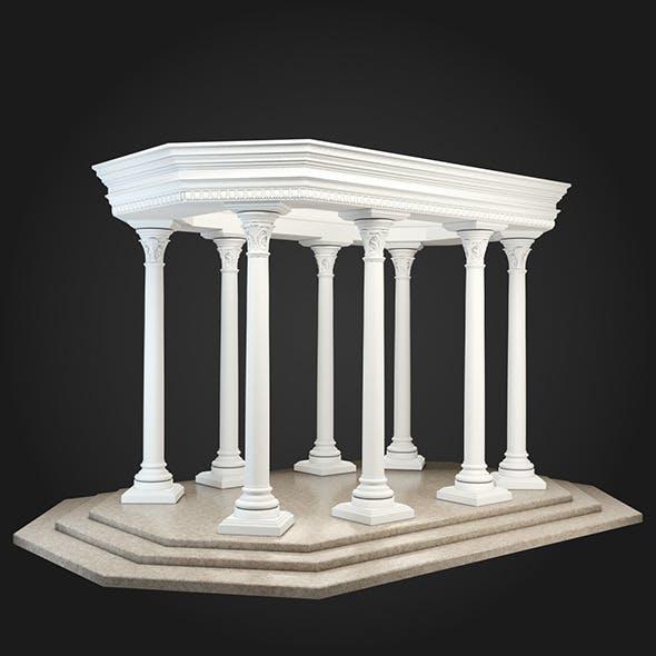 Gazebo 035 - 3DOcean Item for Sale