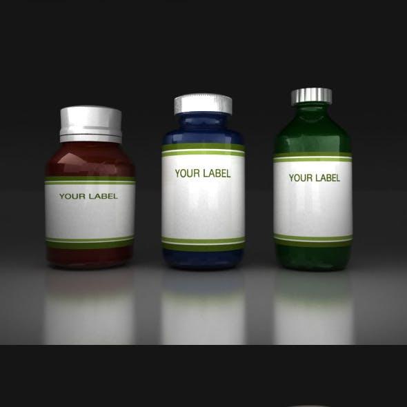 Medicine Bottles V2