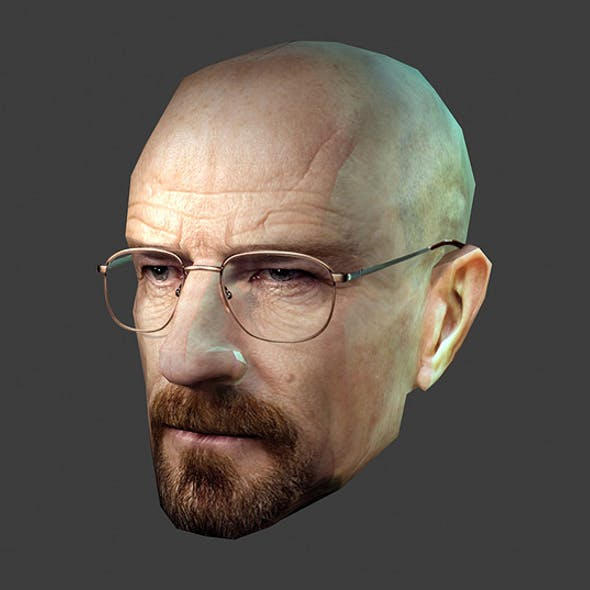 Heisenberg Breaking Bad - Low Poly