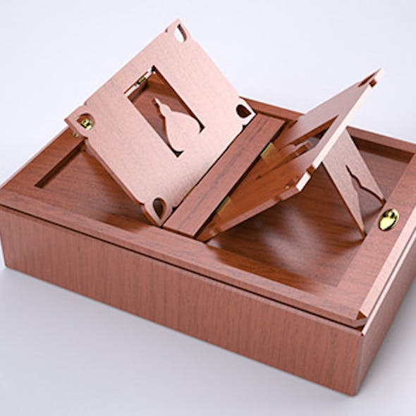 Box and Book Holder
