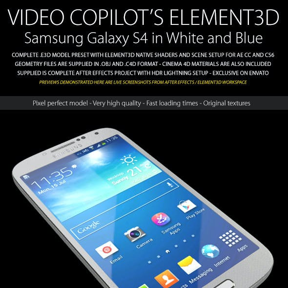 Element3D - Samsung Galaxy S4