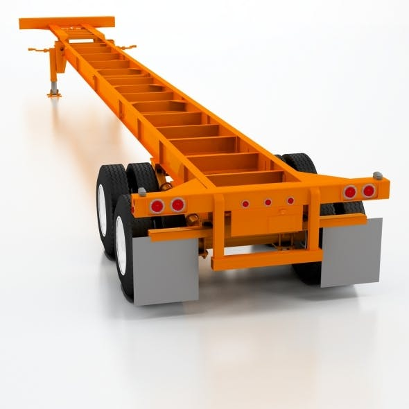 53ft Light weight Gooseneck Chassis