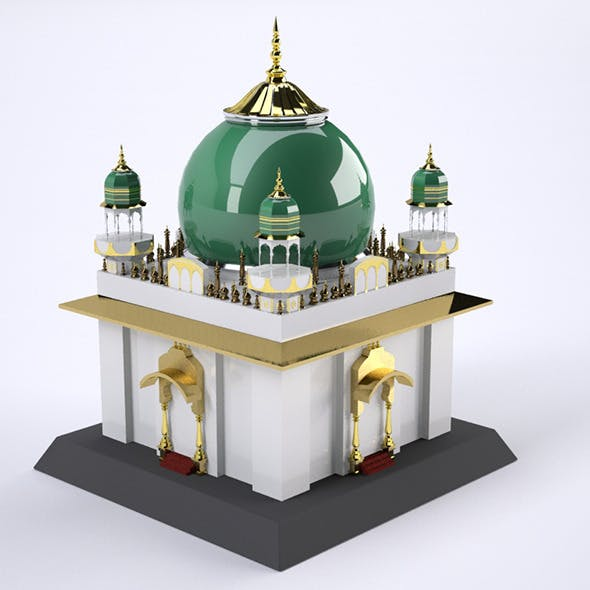 Roza Mosque - 3DOcean Item for Sale