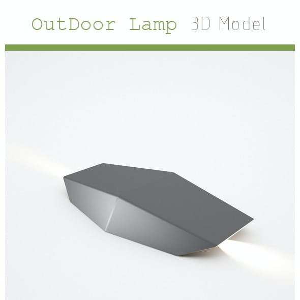 Outdoor Lamp 3D Model