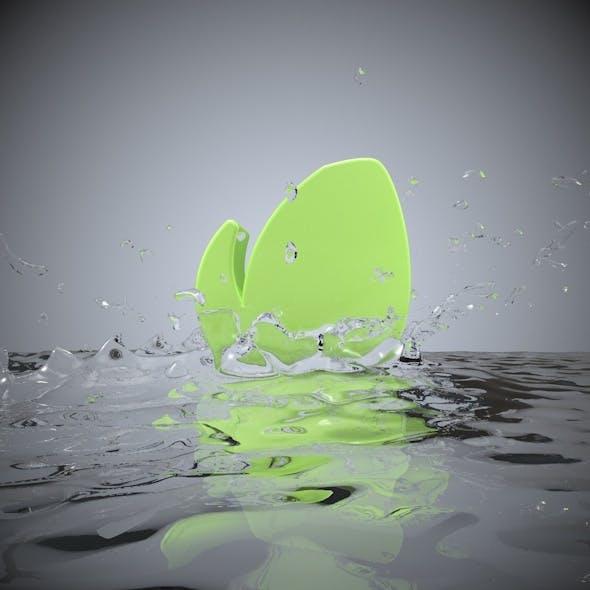 Liquid Logo - 3DOcean Item for Sale