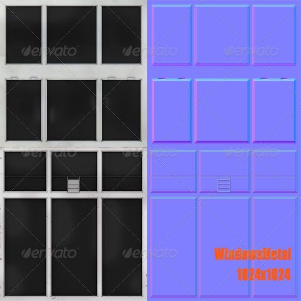WindowsMetal - 3DOcean Item for Sale