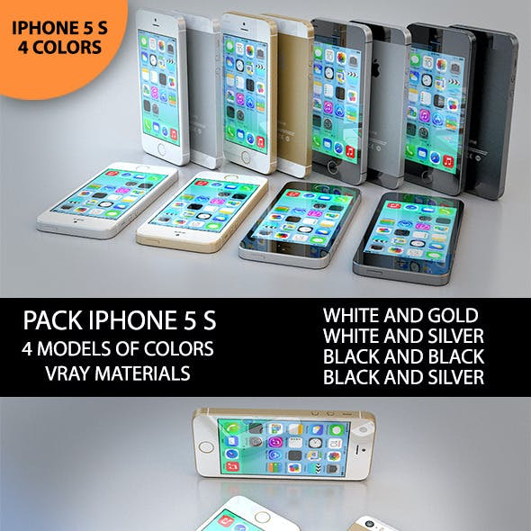 3D New Iphone 5 S