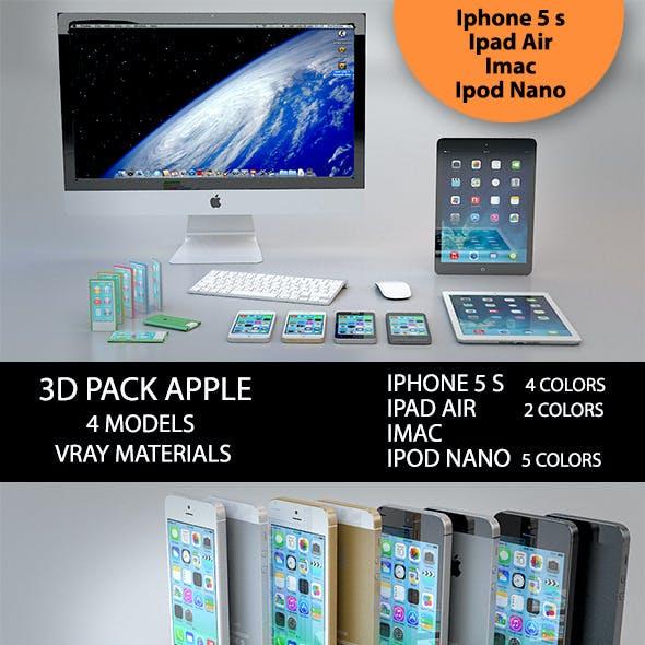 3D Pack Apple