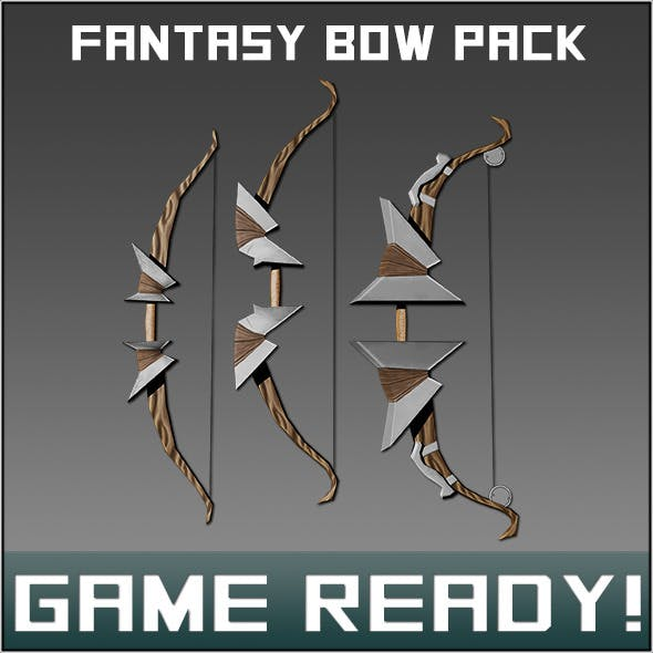 Fantasy Weapon Bow pack