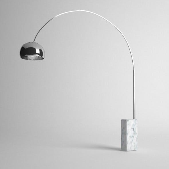 Arco Floor Lamp - 3DOcean Item for Sale