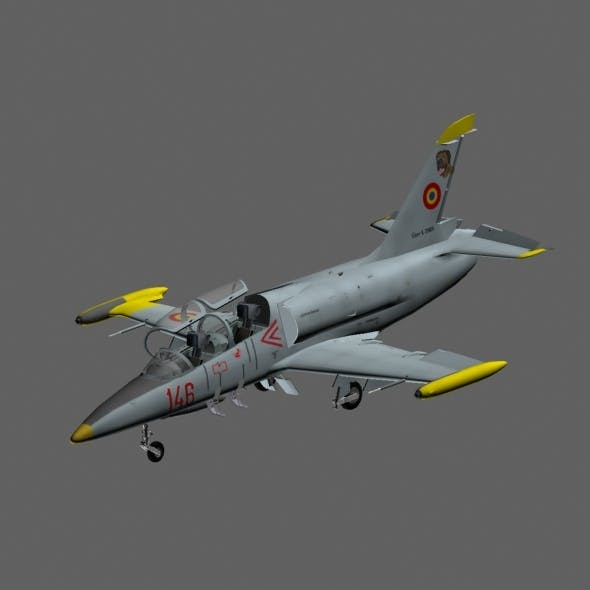 Aero L-39 ZA - 3DOcean Item for Sale