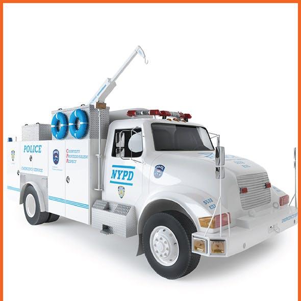 Fire Radio Truck