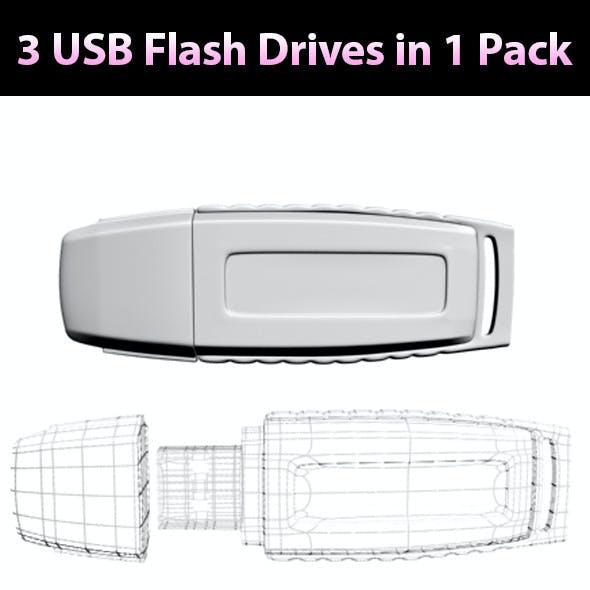 USB Flash Drives - Pack 01