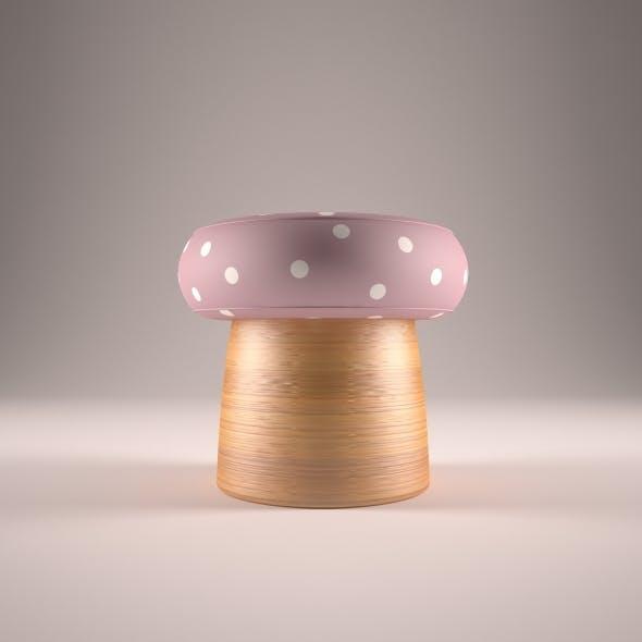Handmade Bamboo Stool - 3DOcean Item for Sale