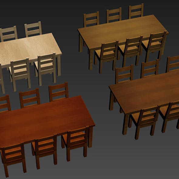 Table and Chair pack