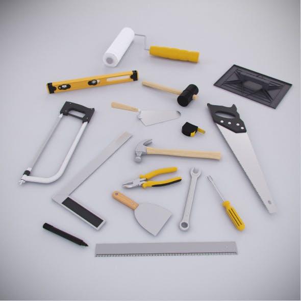 Contruction Tools Kit - 3DOcean Item for Sale