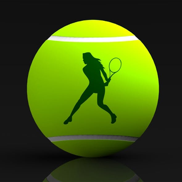 Tennis Ball - 3DOcean Item for Sale