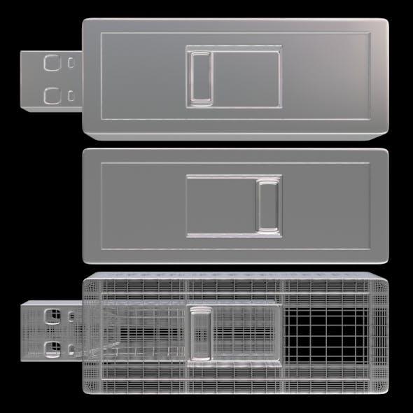 USB Flash Drive 07 - 3DOcean Item for Sale