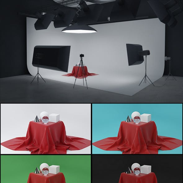 Real Studio Setup for V-ray
