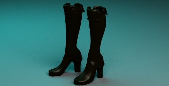 Boots - 3DOcean Item for Sale
