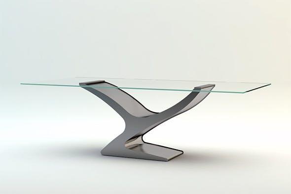 Flai Yuri Table - 3DOcean Item for Sale
