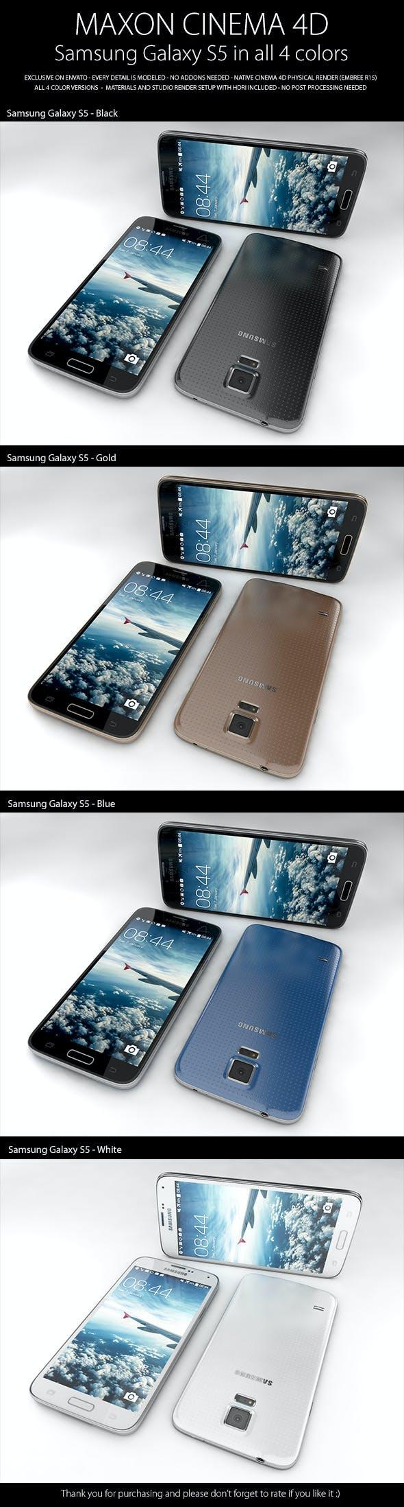 Samsung Galaxy S5 - 3DOcean Item for Sale
