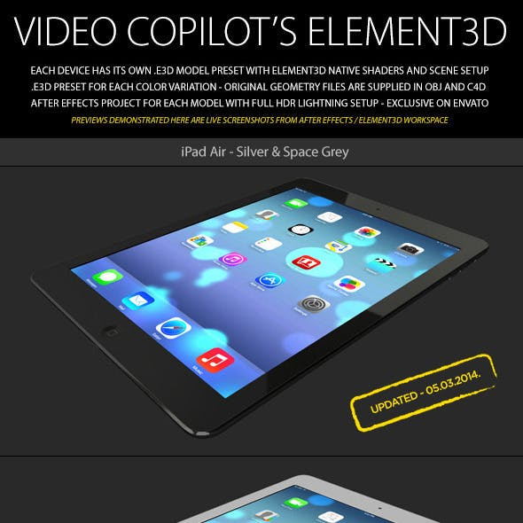 Element3D - iPad Air