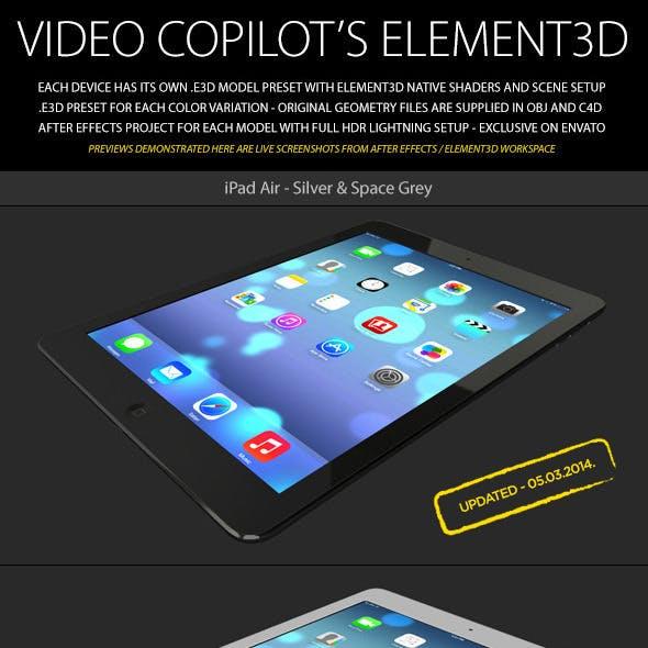Element3D - iPad Air