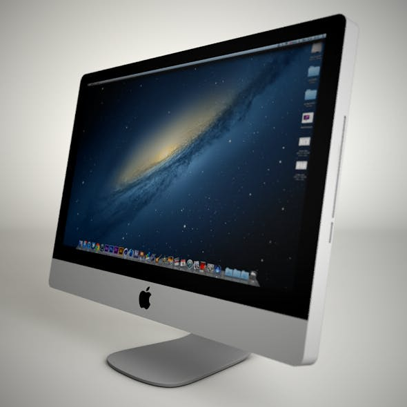 Apple iMac - 3DOcean Item for Sale