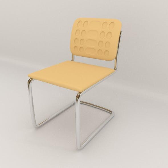 Office Steel Chair - 3DOcean Item for Sale