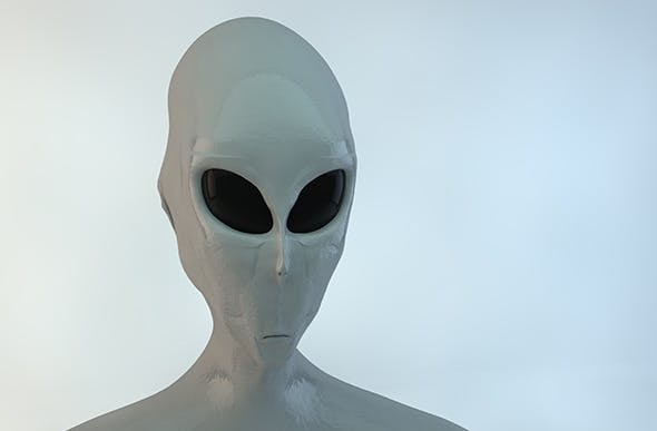 Alien Gray - 3DOcean Item for Sale
