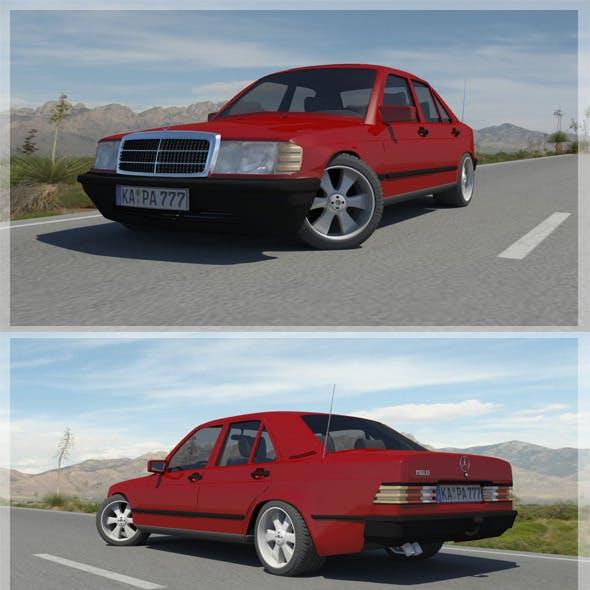 1982-1993 Mercedes Benz C190D w201