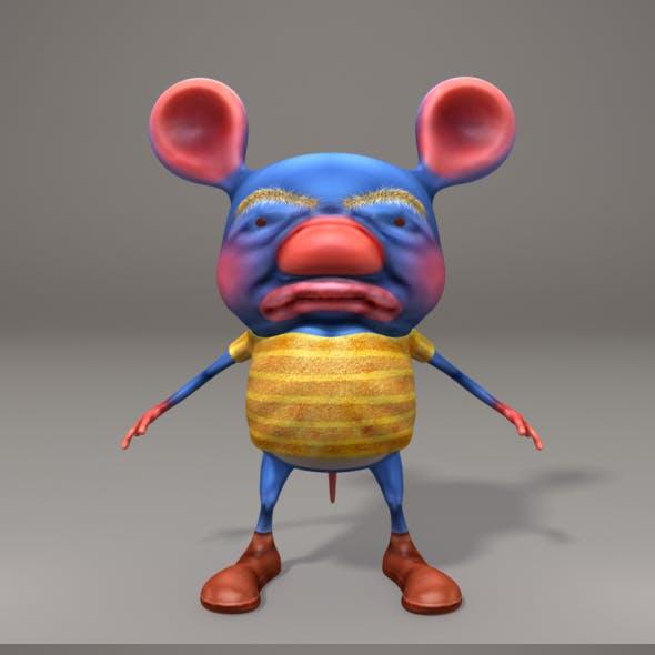 3D Stylized Rat Character