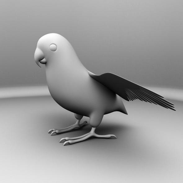 Parrot Bird - 3DOcean Item for Sale