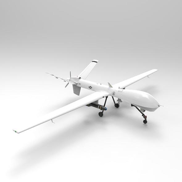 MQ-9 Predator - Drone - 3DOcean Item for Sale