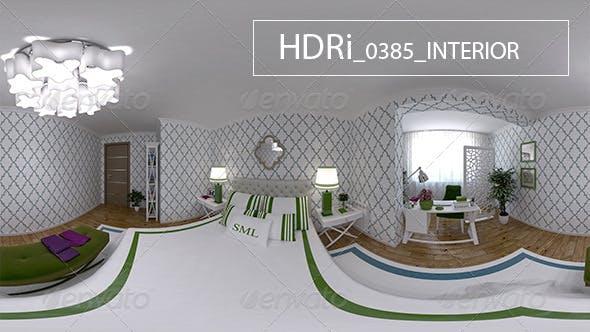 0385 Interoir HDRi - 3DOcean Item for Sale