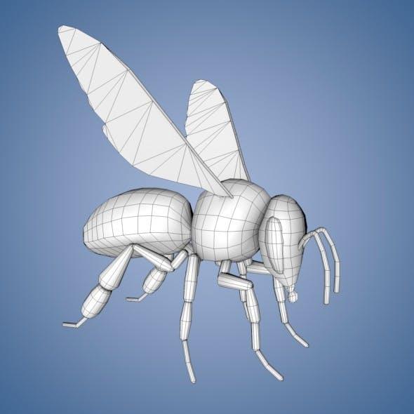 Bee Base Mesh