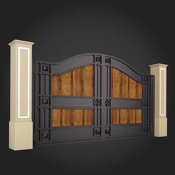 Gate 019 - 3DOcean Item for Sale