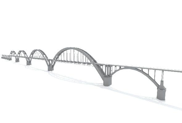 Sartakovsky Bridge - 3DOcean Item for Sale