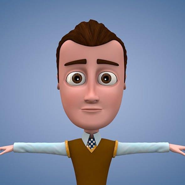 cartoon character