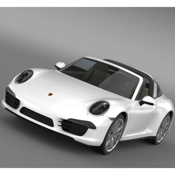 Porsche 911 Targa 4 2014