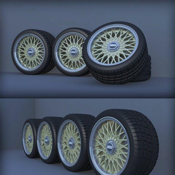 BBS RZ 4x100 Car Wheels Set