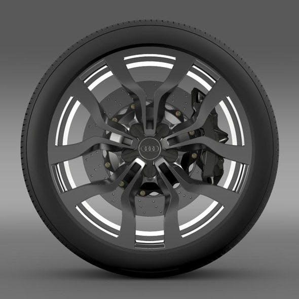 Audi R8 V10 Spyder 2013 wheel - 3DOcean Item for Sale