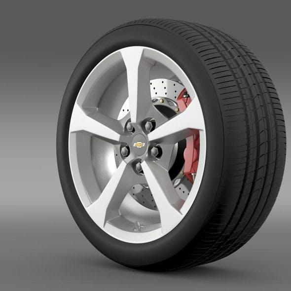 Chevrolet Camaro Convertible 2014 wheel
