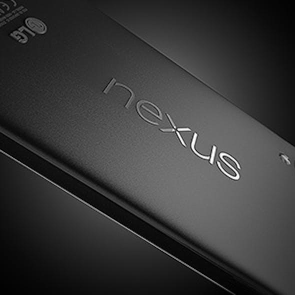 C4D Modeled NEXUS 5 Google smartphone
