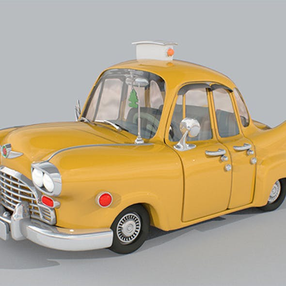New York Checker Taxi