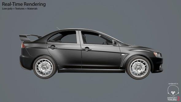 Mitsubishi Lancer Evo 10 - 3DOcean Item for Sale